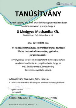 3Medgyes-Mechanika-ISO-9001-Certop-tanusitvany